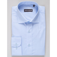 Camasa business regular fit bleu