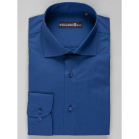 Camasa albastra slim fit 2XL