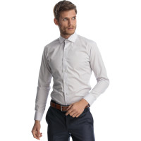 Camasa gri slim fit