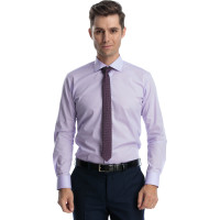 Camasa barbati slim fit mov