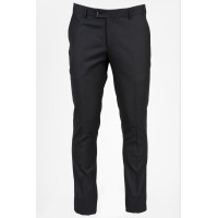 Pantaloni barbati negri slim fit