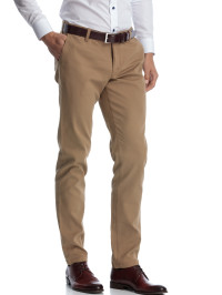 Pantaloni slim fit bej casual