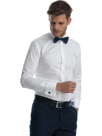 Camasa ceremonie slim fit bumbac